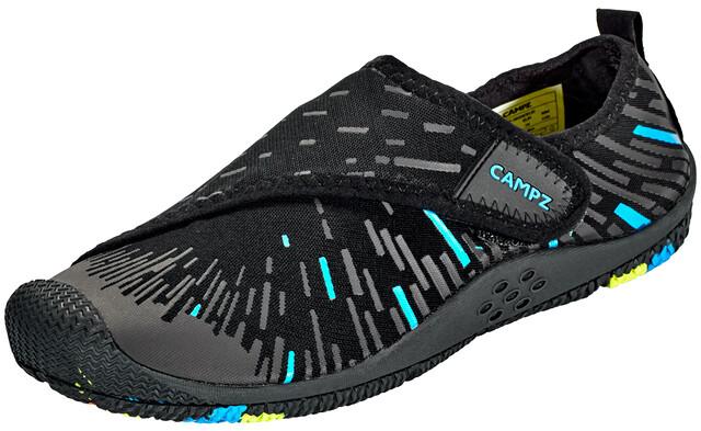 CAMPZ Aqua Shoes with Velcro black/blue